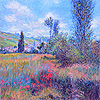 View of Vetheuil (After Monet)